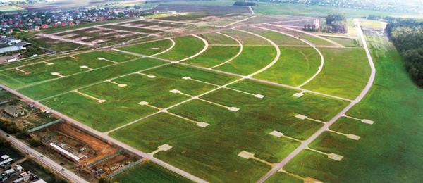 земельные участки под строительство