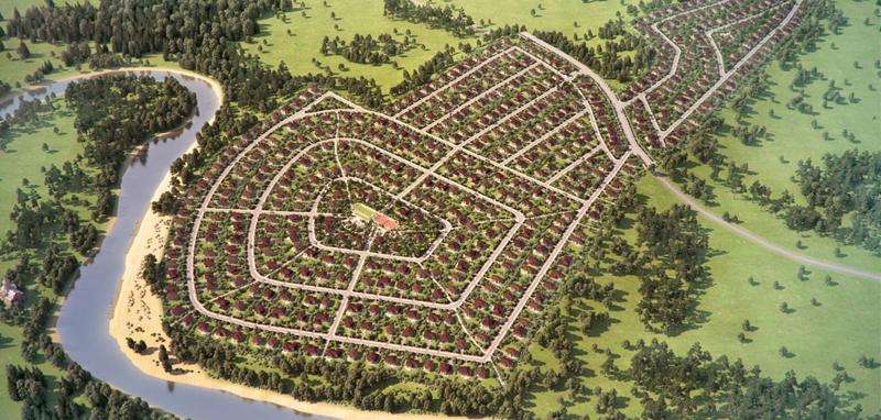 Инфраструктура коттеджного поселка