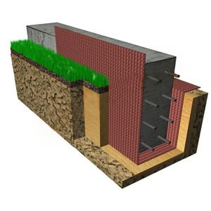 Фундамент и Стены для коттеджа